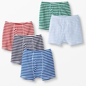 NWT Hanna Andersson 5-pack Boxer Briefs (S)